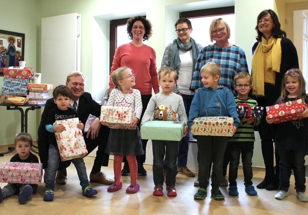 Die Päckchen für Osteuropa sind gepackt. Foto: Katholisches Familienzentrum St. Elisabeth