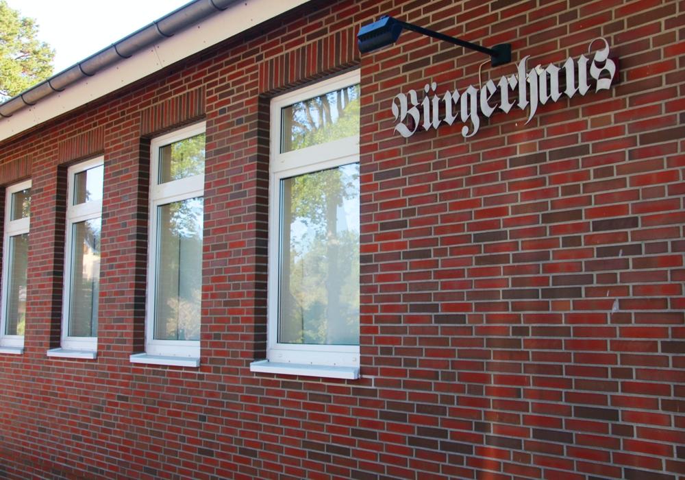 Das Bürgerhaus in Stüde. Foto: B.I.G.-Sassenburg