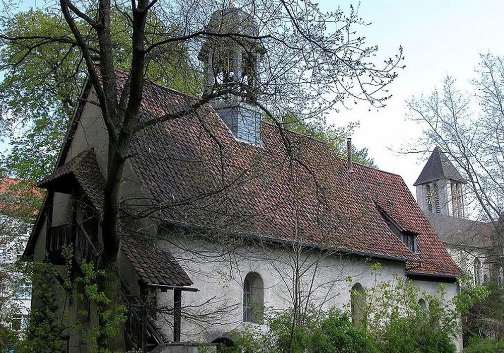 Kapelle St. Leonhard. Foto:  Arbeitskreis Andere Geschichte e.V./Wikipedia, Brunswyk