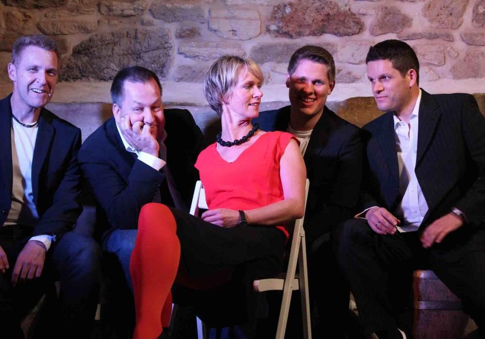 """Die Band """"Groove Solution"""" soll für Stimmung sorgen. Foto: Ute Dreyer"""