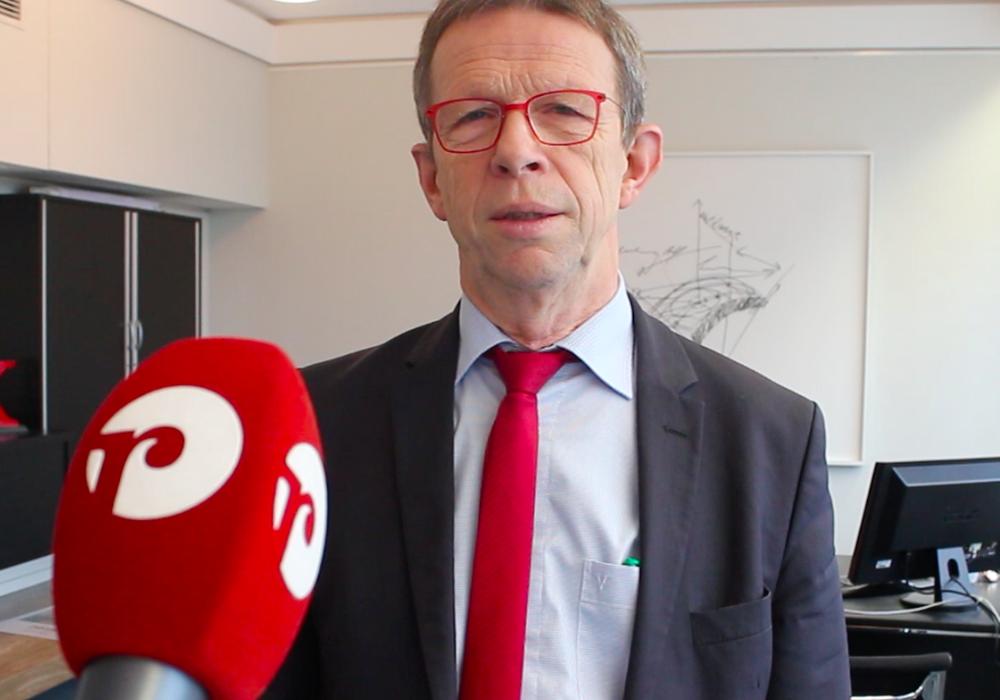 Oberbürgermeister Klaus Mohrs. Archivbild