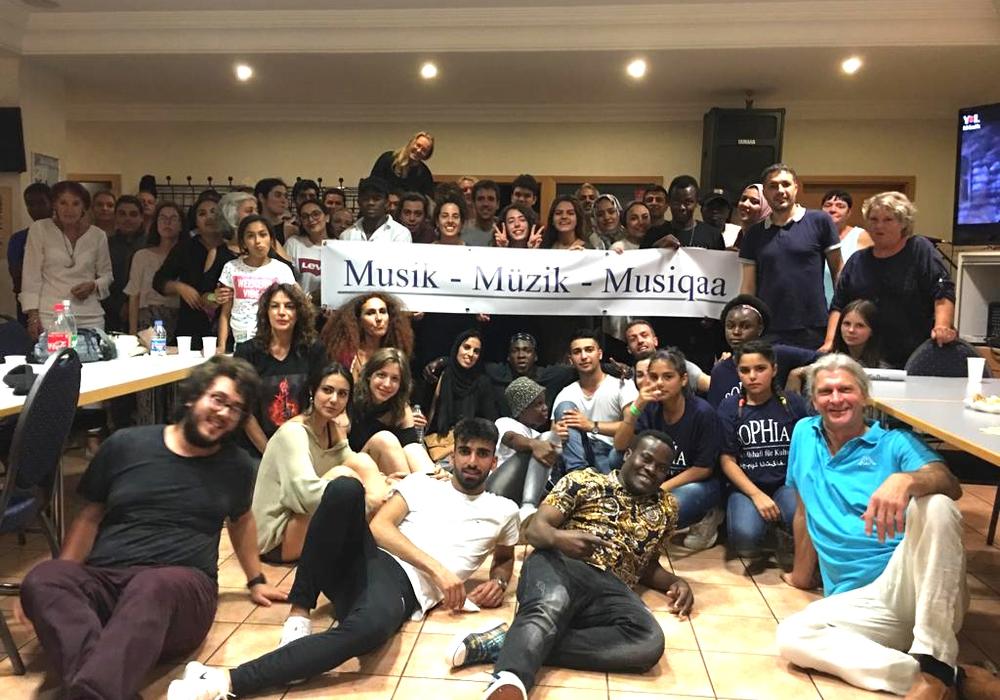 Das interkulturelle Musikprojekt von Sophia-Bildungsgesellschaft und Musikschule war ein Erfolg. Foto: Privat