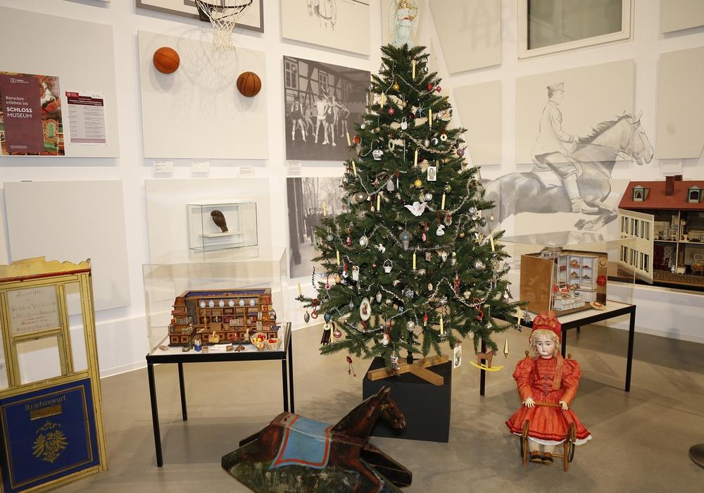 Die Weihnachtsausstellung im Bürger Museum Wolfenbüttel. Foto: Stadt Wolfenbüttel