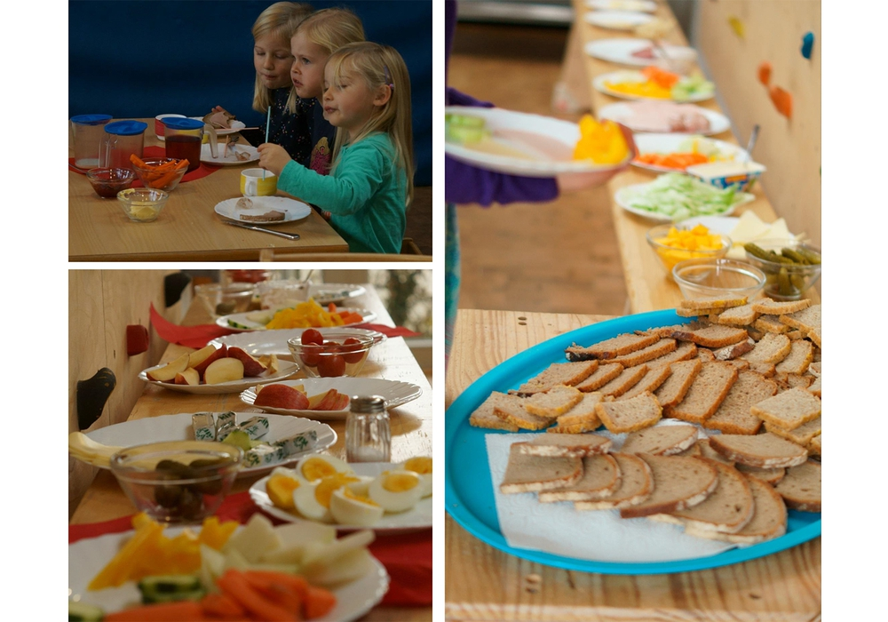 """In der vergangenen Woche wurde in der """"Villa Hoppetosse"""" gesund gefrühstückt. Foto: Stadt Wolfenbüttel"""