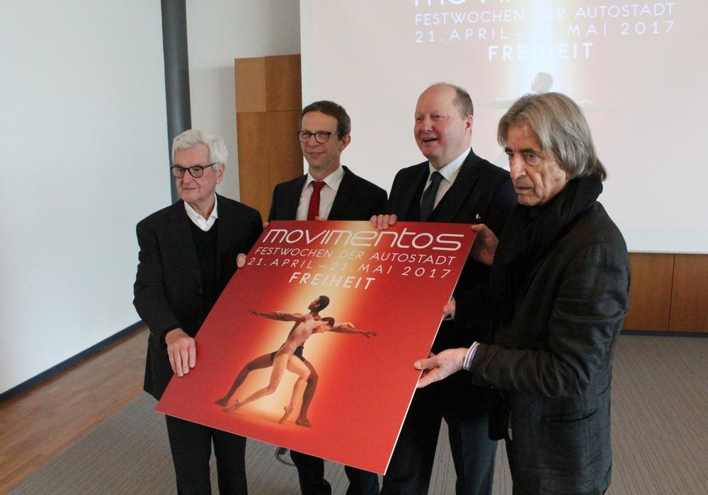 In der Autostadt wurde das Programm von Movimentos vorgestellt. Foto: Bernd Dukiewitz