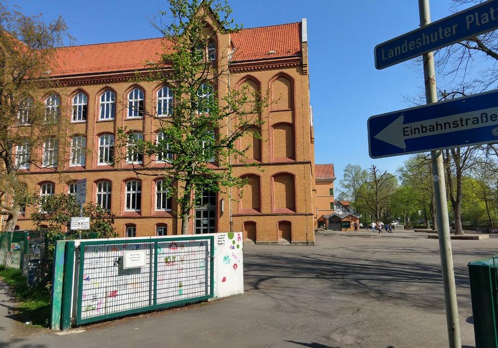 Das Hauptgebäude der IGS Wallstraße. (Archivbild)