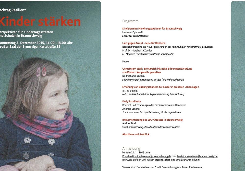 Die Folgen von Kinderarmut können künftig in Braunschweig umfassender bekämpft werden als bisher. Foto: Stadt Braunschweig