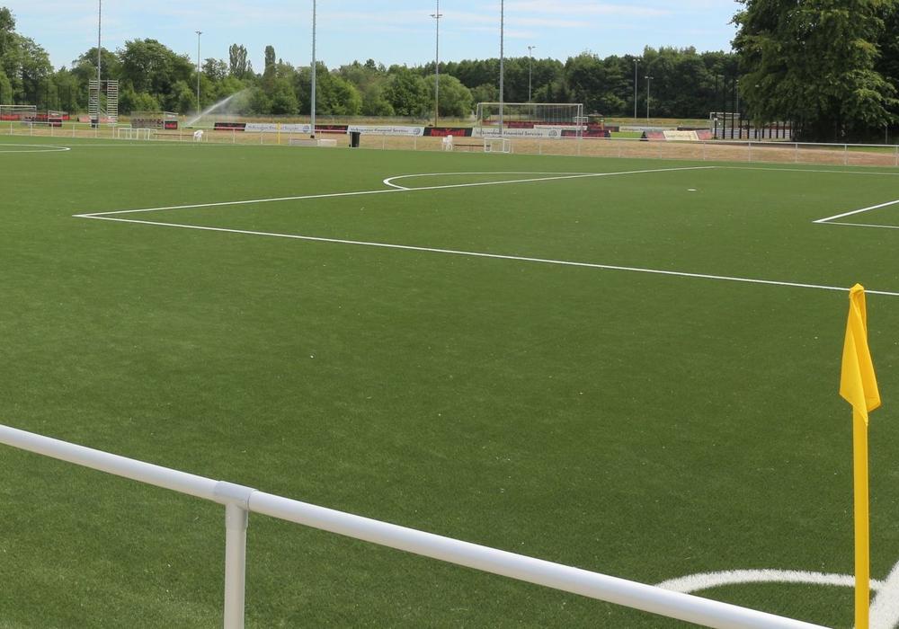 Die Bezirkssportanlage in Melverode erhält ein Kunstrasenspielfeld. Symbolfoto: Archiv