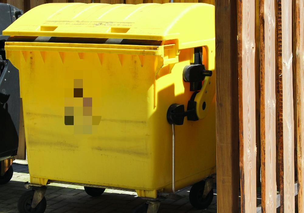 ALBA Niedersachsen-Anhalt bietet Gelben Container für Am Hillberge an. Symbolfoto: Max Förster