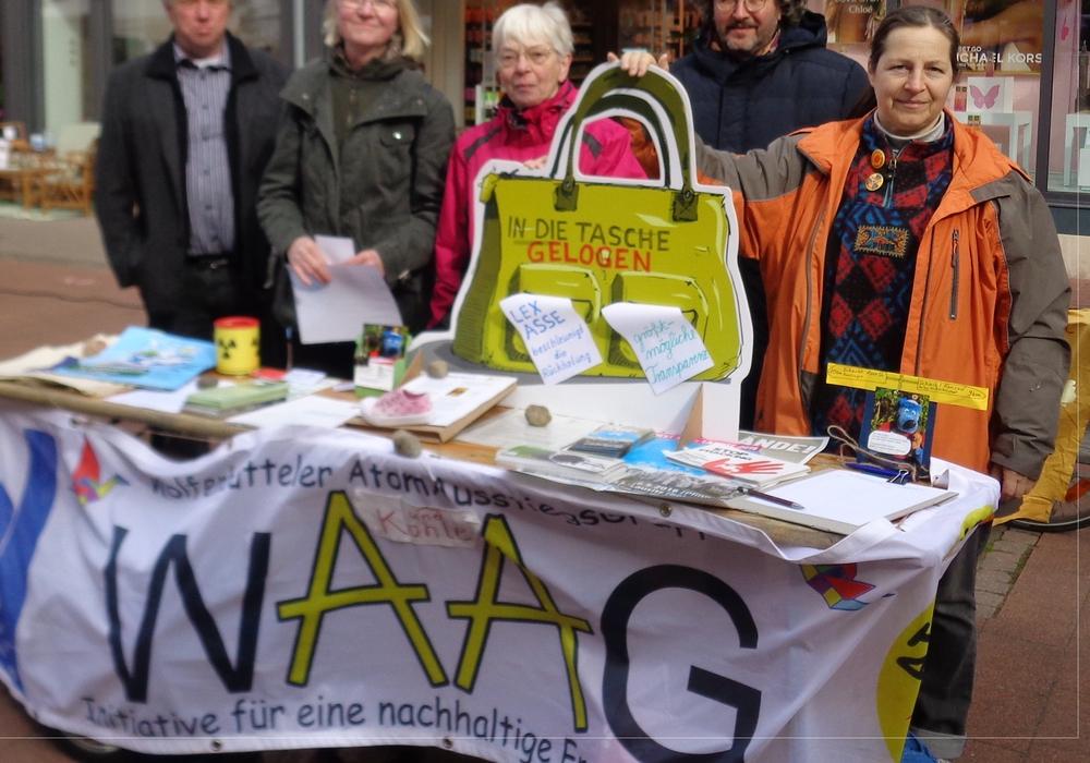 Die WAAG auf dem Umweltfestival, Foto: Privat