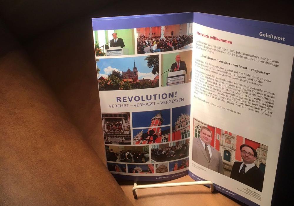 Die Bedeutung und Folgen historischer Revolutionen werden beleuchtet Foto: Stadt Helmstedt