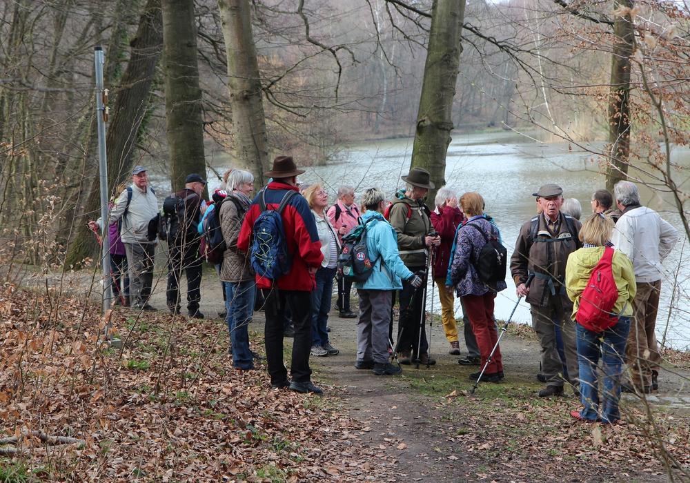 Wandern durch den Lappwald. Foto: Privat