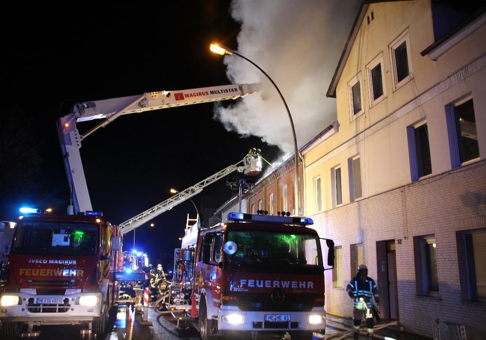 Am 17. Juli beginnt der Prozess gegen den Mann, der in Helmstedt ein Haus angezündet haben soll. Foto/Video: aktuell24