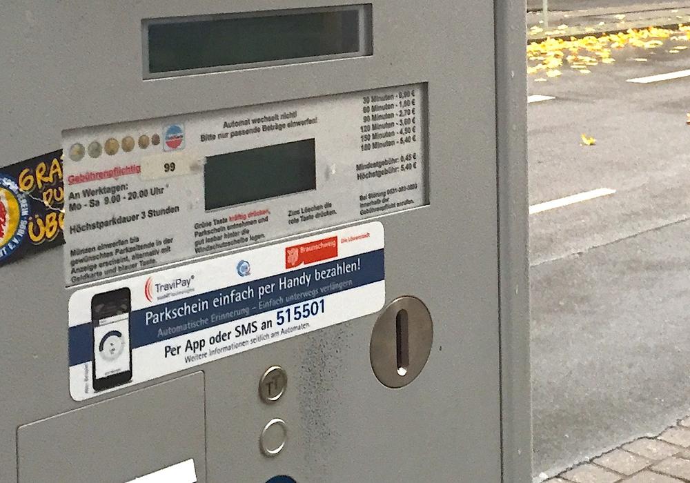 Das Handyparken erfreut sich in Braunschweig immer mehr Beliebtheit. Foto: Anke Donner