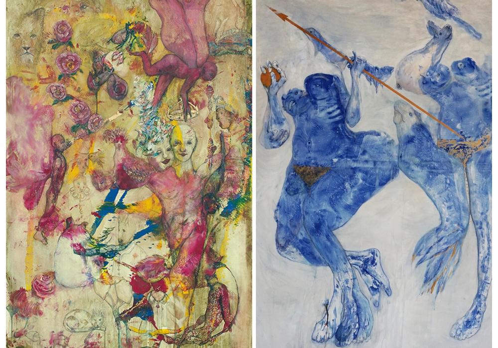 Der Braunschweiger Künstler Volkmar Jesiek stellt in der New Yorker Agora Galerie aus. Foto: Agora Gallery