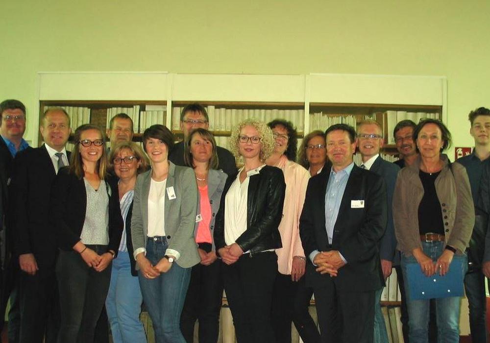 Die Mitglieder der Lenkunsgruppe Bildung. Foto: Landkreis Helmstedt