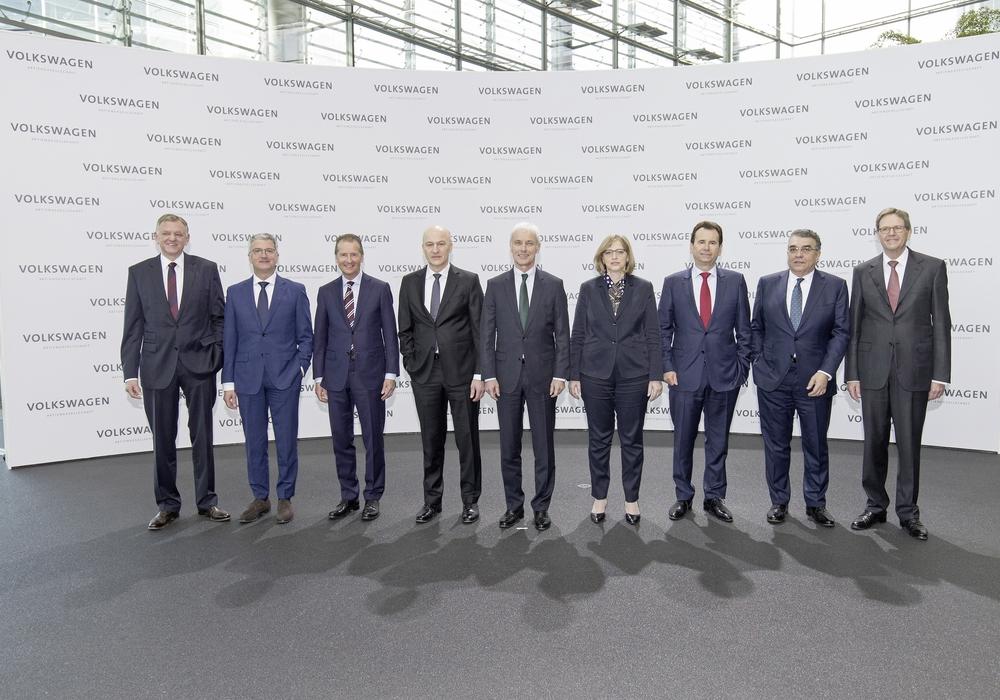 Der Volkswagen-Vorstand soll entlastet werden. Foto: Volkswagen