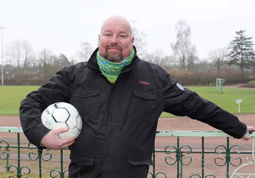 Ingo Mühlberg war Fußballfan durch und durch. Foto: Frank Vollmer/Archiv