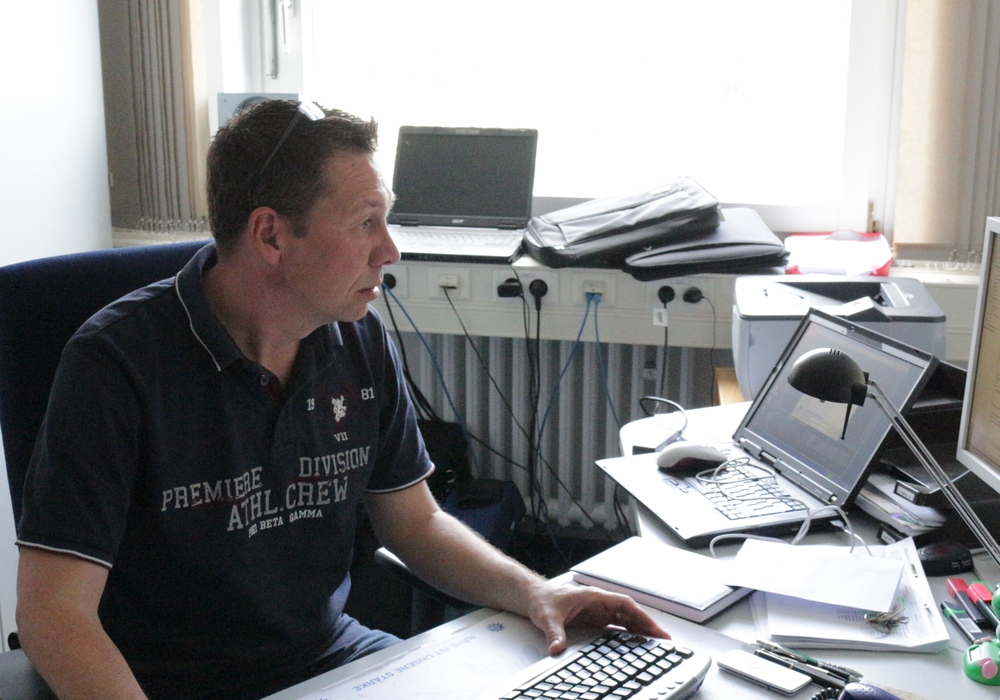Stefan Weinmeister wird ab dem 1.Juli Pressesprecher der Polizeiinspektion Braunschweig. Foto: Robert Braumann