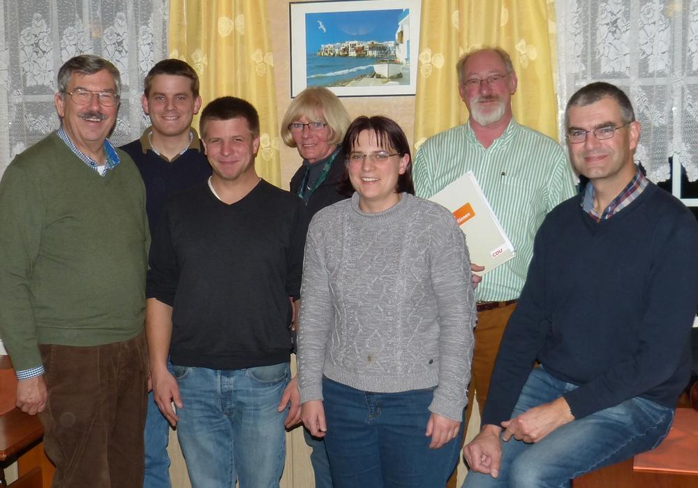 Der Vorstand wurde neu gewählt. Foto: CDU Cremlingen