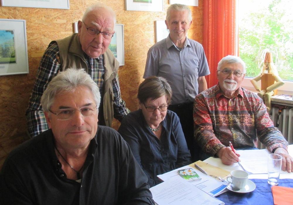 Herbert Theissen und Dieter Lorenz mit weiteren CDA Mitgliedern bei einer Vorbesprechung. Foto: privat