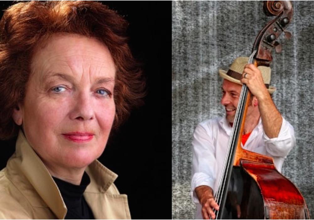 Paula Quast und der Musiker Henry Altmann. Fotos: Privat