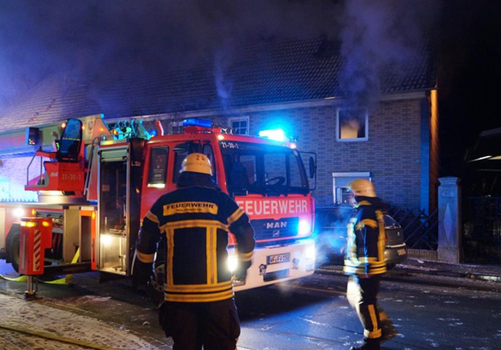 Mehrere Haustiere kamen in den Flammen ums Leben, vier Personen konnten gerettet werden. Foto: Feuerwehr Wolfenbüttel