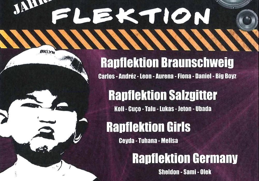 Flyer Rapflektion.