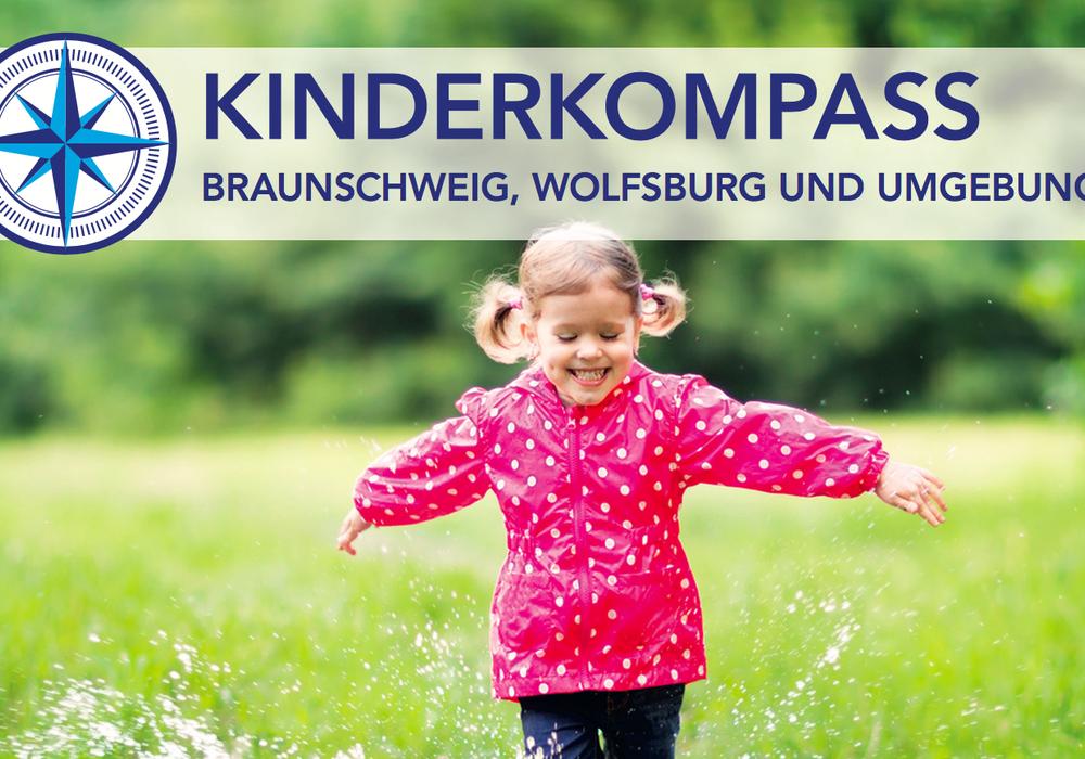 """Der """"Kinderkompass für die Region Braunschweig, Wolfsburg und Umgebung """" wird ab jetzt jedes Jahr aktualisiert neu aufgelegt werden. Bild: Kinderkompass"""