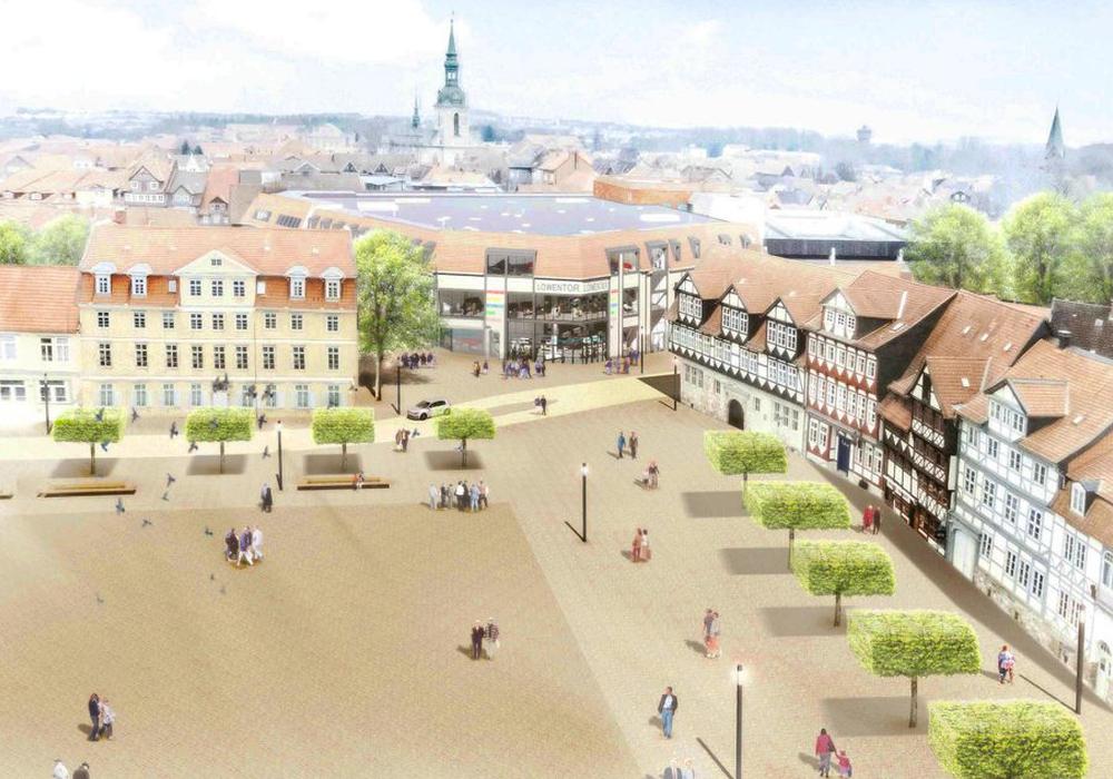 Der Rat der Stadt stimmte dem Bebauungsplan zur Schlossplatz-Umgestaltung mehrheitlich zu. Foto: Büro Mann Fulda