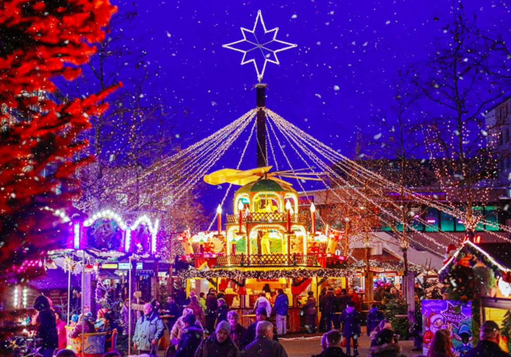 Weihnachtsmarkt in Wolfsburg. Foto: WMG