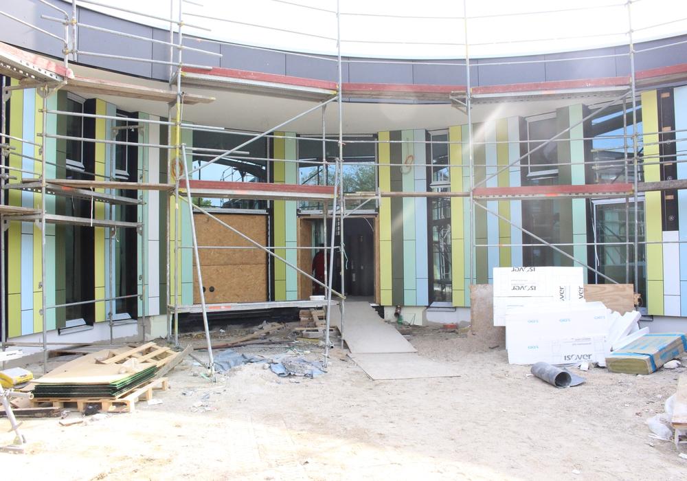Die Sanierung des Schulzentrums ist eines der Themen in der  kommenden Ortsratsitzung. Fotos:  Nino Milizia