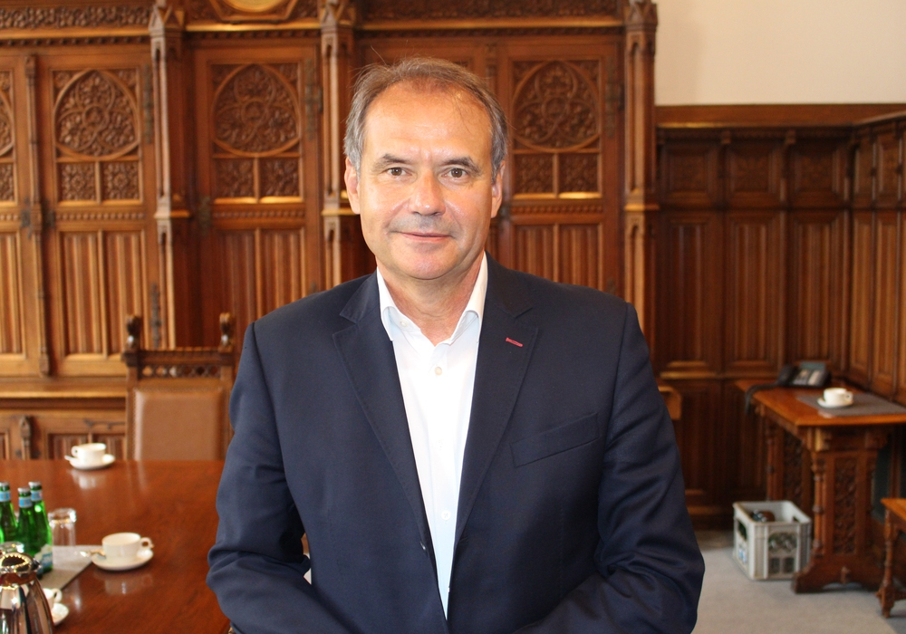 Ulrich Markurth hofft auf eine breite Mehrheit im Rat.