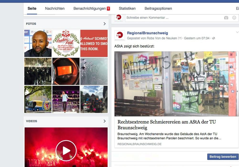 Quelle: Screenshot, Facebook, regionalBraunschweig.de