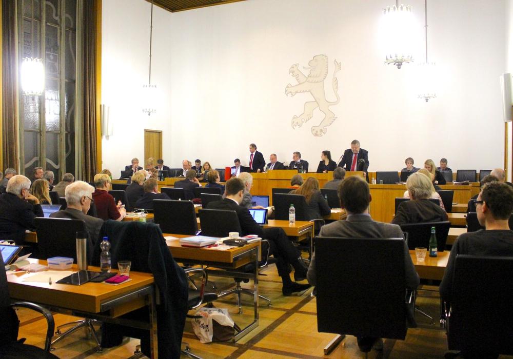 Die Ratsmitglieder debattierten in ihrer Sitzung über die Einwohnerbefragungen. Foto: Nick Wenkel