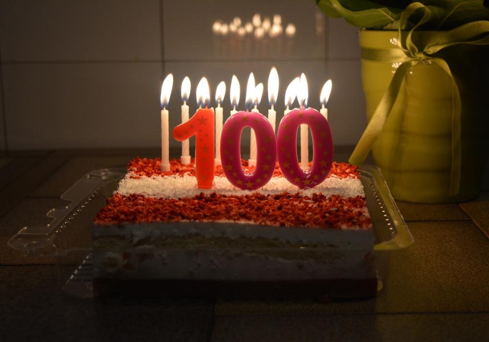 Geburtstag, Jubiläum, 100 Jahre, Symbolbild: Pixabay
