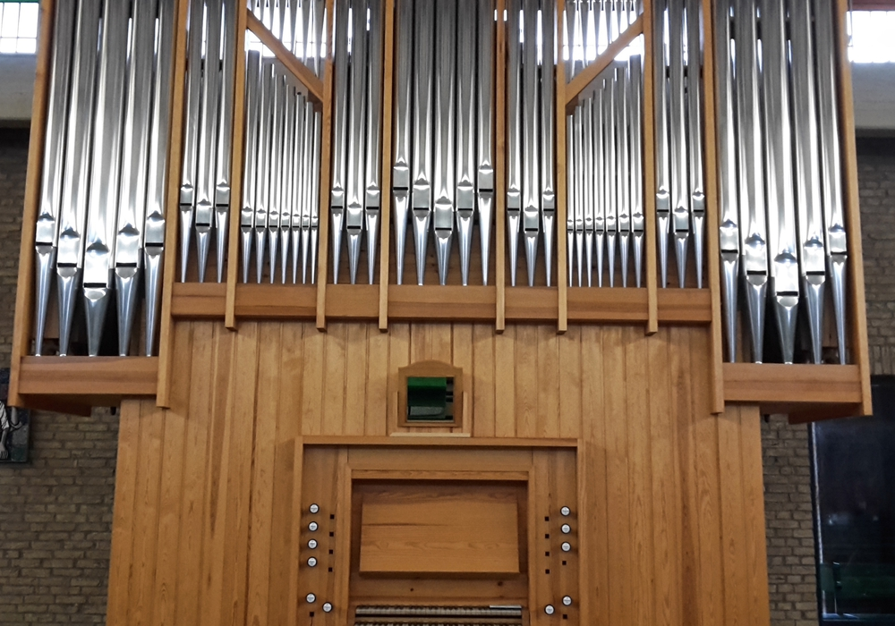 Die Orgel in St. Ansgar. Foto: Kirchengemeinde St. Ansgar