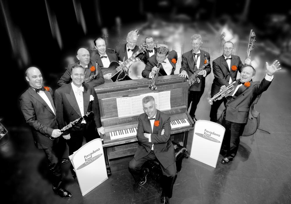 """Das """"Pasadena Roof Orchestra"""" steht für Swing in Reinform. Foto: Veranstalter"""