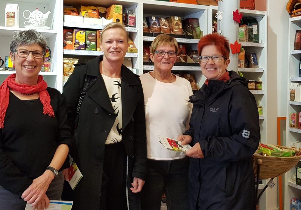 Christiane Döring, Dunja Kreiser, Inge Ermert und Dörthe Weddige-Degenhard. Foto: SPD
