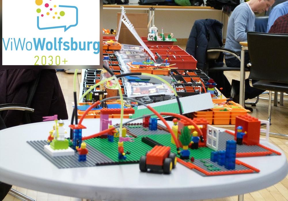 Fertiges Modell aus Legobausteinen, die in der Phase des Prototyping verwendet werden. Foto: Nadja Berseck/TU Berlin