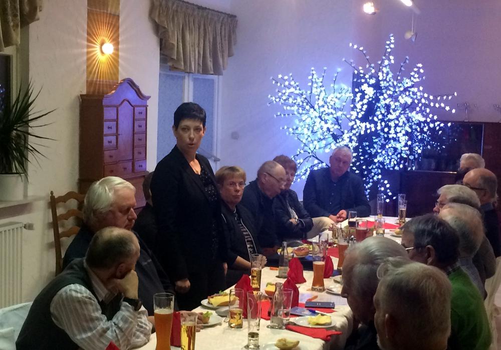 Sarah Grabenhorst-Quidde, aus Semmenstedt, stellte sich persönlich und ihre politischen Ziele vor. Foto: Privat