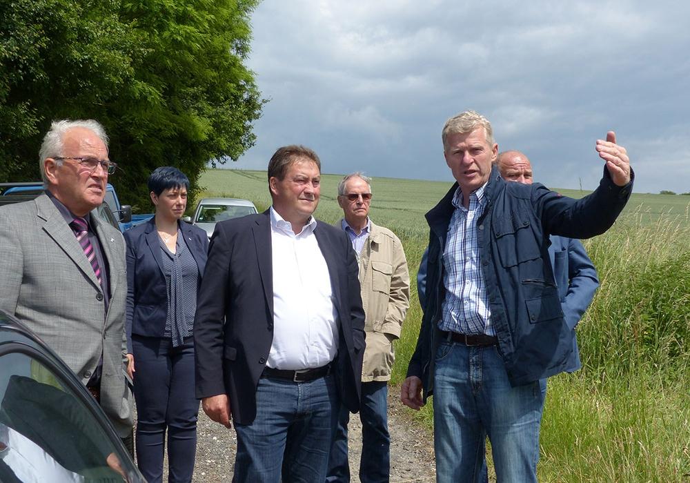 v. links nach rechts : E.-A. Bode; S. Grabenhorst-Quidde; Uwe Lagosky; Henning Oppermann; Gerd Nölcke; Norbert Löhr. Foto: CDU