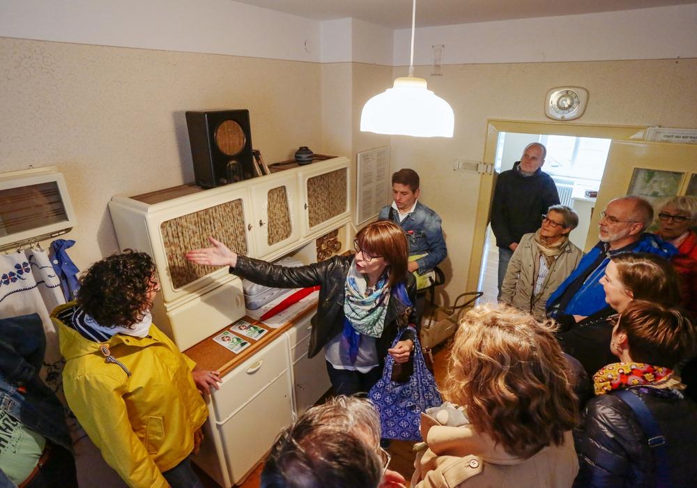 Die WMG bietet Führungen durch die Museumswohung an. Foto: WMG/Janina Schnatzke