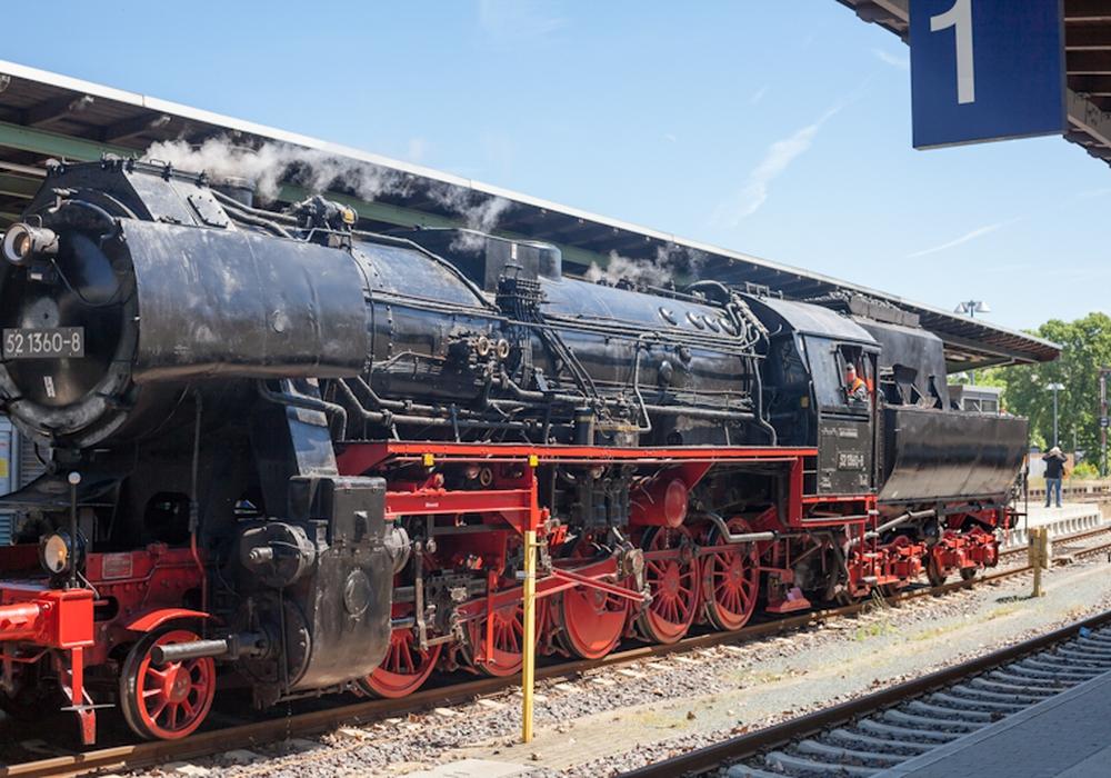 Vor 175 Jahren fuhr die erste Dampflok von Bad Harzburg nach Braunschweig. Symbolfoto: Alec Pein