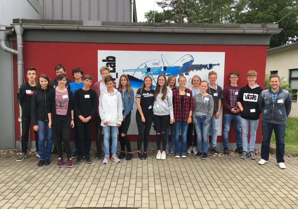 Im Juni gab es eine Exkursion ins Deutsche Zentrum für Luft- und Raumfahrt. Foto: Große Schule