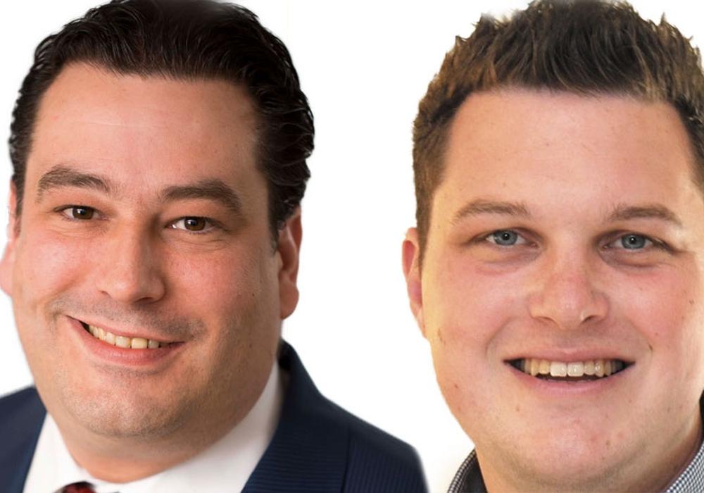 Die Gifhorner SPD-Landtagsabgeordneten Tobias Heilmann und Philipp Raulfs. Fotos: SPD