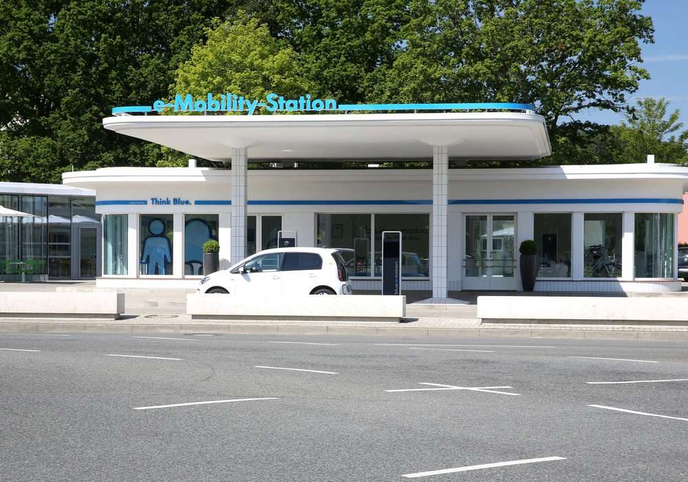 An der e-Mobility-Station in Wolfsburg startet das TV38 Spezial mit einer Live-Übertragung. Foto: TV38