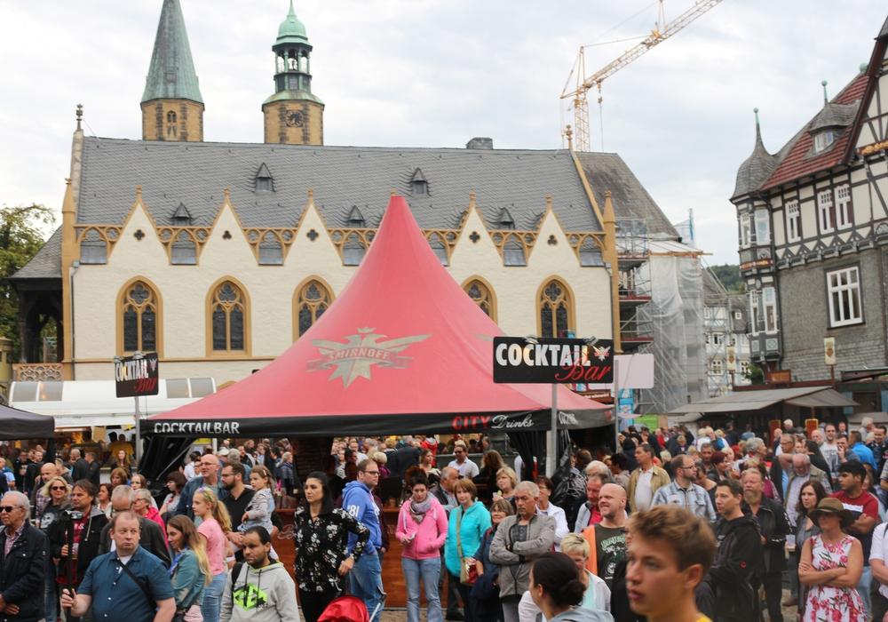 Bei bestem Wetter besuchten viele Gäste das Altstadtfest. Foto: Anke Donner
