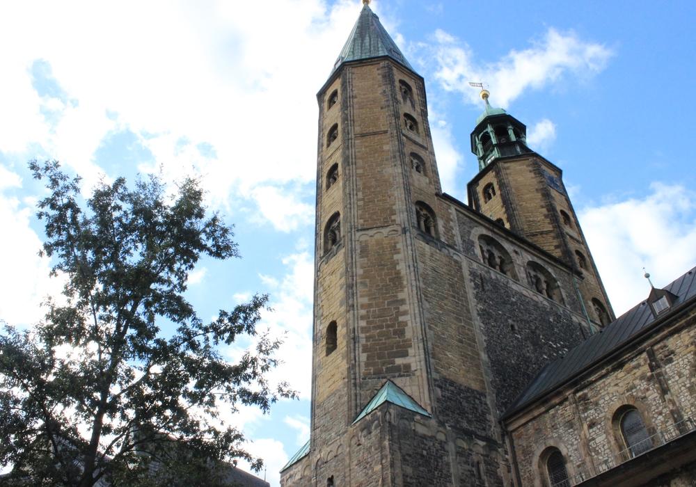 Die Marktkriche in Goslar, wo Landesbischof Meyns predigen wird. Foto: Anke Donner