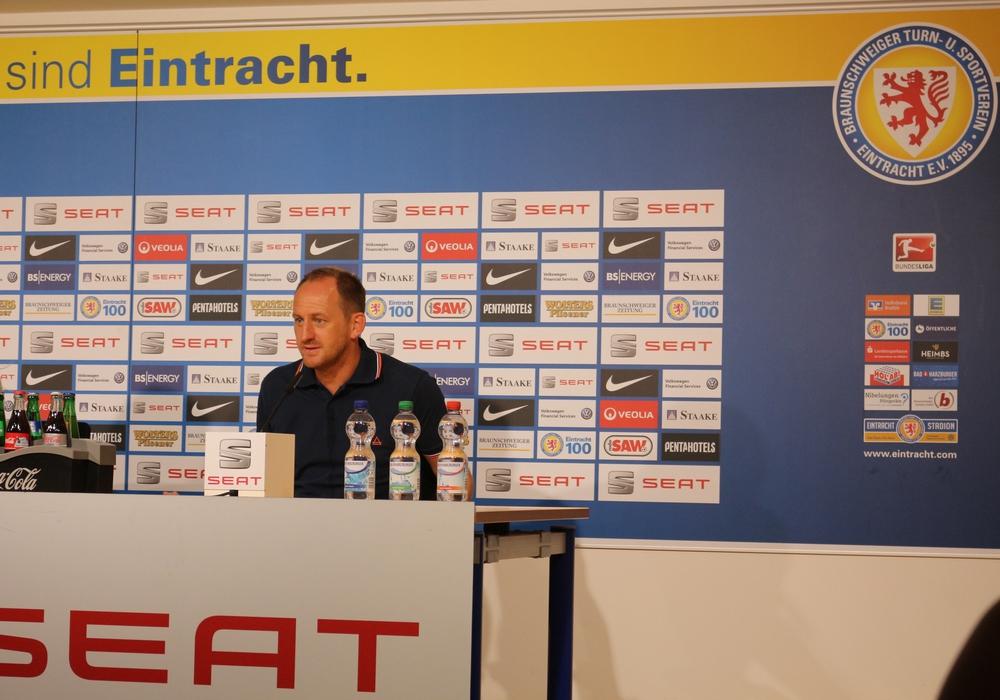 Am Samstag treffen die Löwen in der ersten Runde des DFB-Pokals auf den Halleschen FC. Foto: Robert Braumann